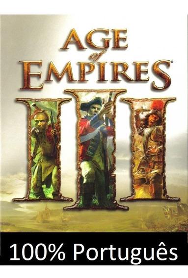 Age Of Emipres 3 Completo + Expansões 100% Traduzido Em Ptbr