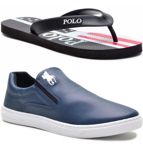 Kit Chinelo + Tênis Polo Plus Original Promoção!!!