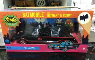 Funko Batman Y Robin 1966 Batimovil Set Original Adam West