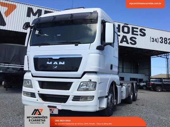 Caminhão Man Tgx 29-440 Automático 6x4 Traçado Extra!!!