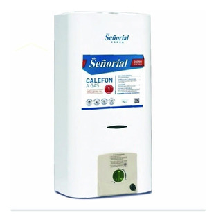 Calefon 14 Lts Señorial Con Encendido Gas Natural