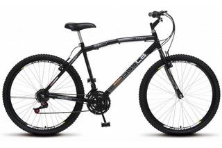 Bicicleta Aro 26 36r 18 Marchas Cb 500 Colli - Preto