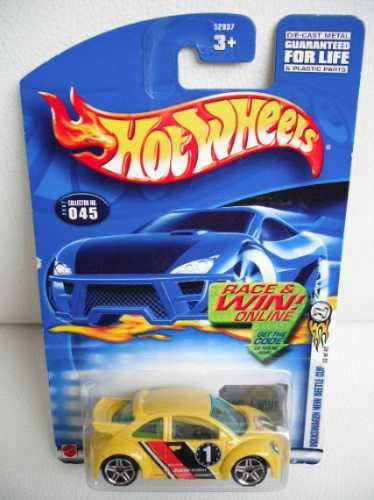 R$30 No Lote Hot Wheels Vw New Beetle Cup 2003 First Ed G58