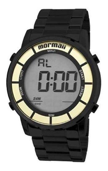 Relógio Mormaii Digital Todo Em Aço Mobj3463db/4p