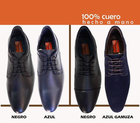 Zapato Casual Formal Hombre Para Pantalón Slim / Toda Talla