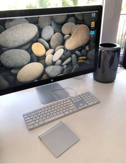 Mac Pro 6core/64/256+monitor Apple 27+teclado Apple+trackpad