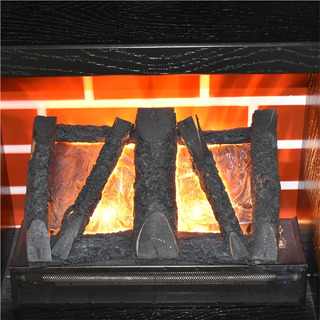 Inserto Leño Chimenea Simulador Flama Con Calefactor