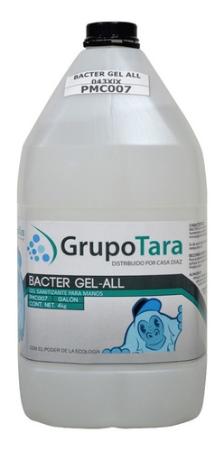 Bacter - Gel Sanitizante Antibacterial Base Alcohol 95%