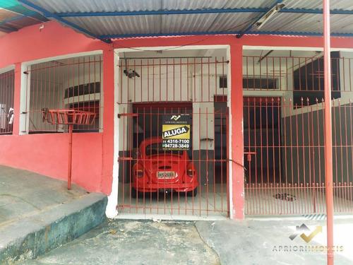 Salão Para Alugar, 80 M² Por R$ 1.100,00/mês - Jardim Silvana - Santo André/sp - Sl0146