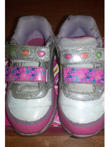 Zapatos Deportivos De Luces Barbie Talla 25