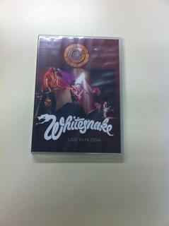 Whitesnake Live In Russia Dvd Nuevo Coverdale Deep Purple