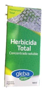 Herbicida Total Matayuyos Total 100cc Gleba Jardín