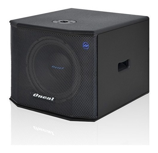 Subwoofer Ativo Oneal Opsb 3200 550w Rms
