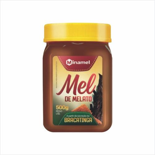 Imagem 1 de 3 de Mel Medicinal Bracatinga 500g Pote - Minamel