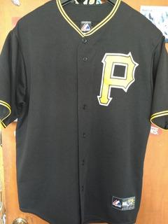 Pittsburght Pirates Jersey Maccutch Talla L Adulto Majestic