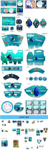 Kit Imprimible Dory