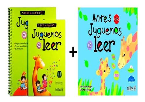 Imagen 1 de 1 de Juguemos A Leer + Antes De Juguemos A Leer ( Combo 2x1)