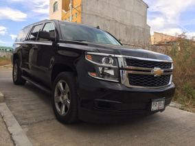 Chevrolet Suburban 5.3 Lt Piel Cubo Mt 2016