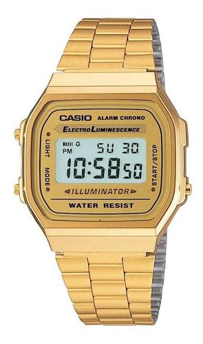 Reloj Casio Retro A-168wg 100% Original Envio Gratis Gti 5 A