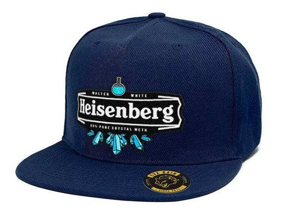 Heisenberg Breaking Bad Cristal Gorra Snapback Eva Rain®