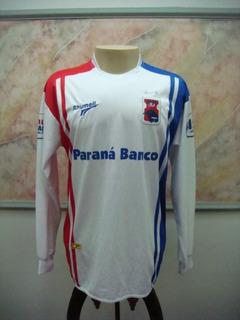 Camisa Futebol Parana Curitiba Rhumell Jogo Antiga 2586