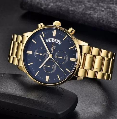 Relógio Nibosi Original Na Caixa