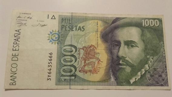1000 Pesetas Españolas