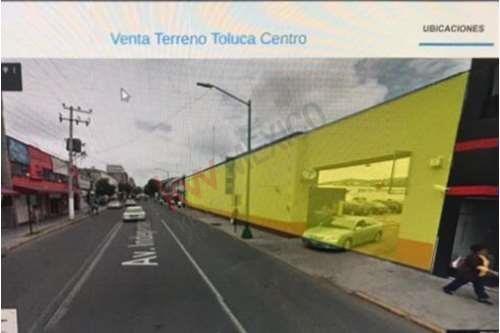 Imagen 1 de 4 de Venta De Terreno Toluca Centro 32,500,000.00 M/n