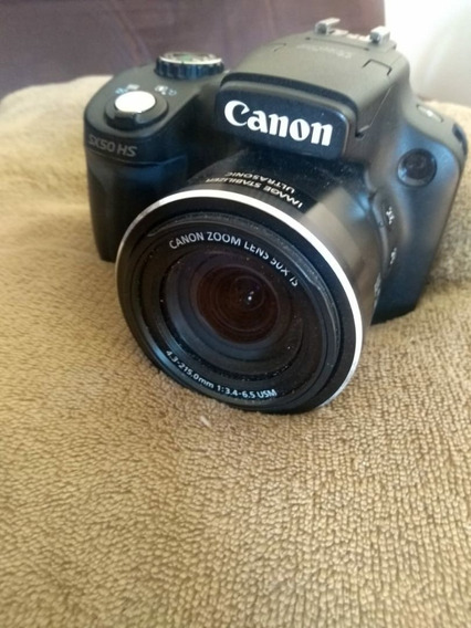 Câmera Fotográfica Canon Sx50 Pouco Usada E Em Ótimo Estado.