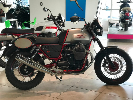 Moto Guzzi V7 Racer Abs Okm Mas 12 Cuotas Sin Interes