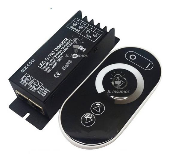 Dimmer Touch Monocromatica Para Led Rf 12v/24v 25a