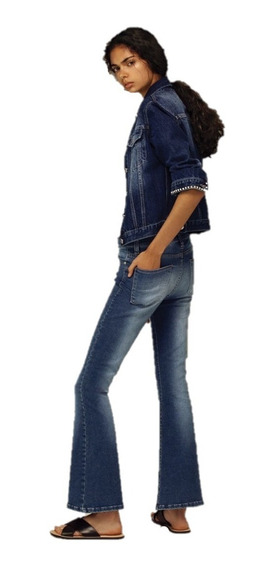 Maria Cher Pantalon Retro Jagger Lavado Localizado