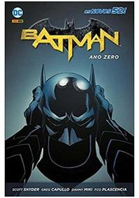 Hq Batman: Ano Zero (capa Dura) Dc Comics Panini Português