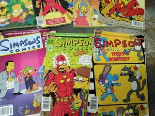 Historietas De Los Simpson 14 Modelos De Colección 1996 Orig