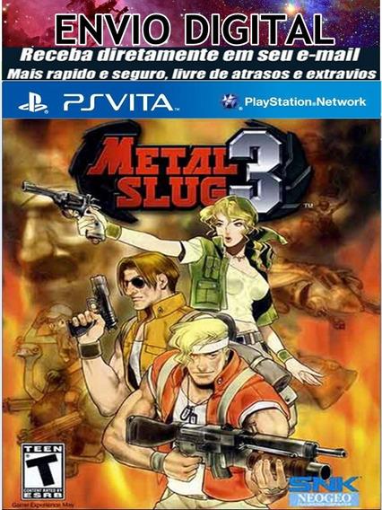 Metal Slug 3 Pvita-henkaku-destravado-envio Eletronico