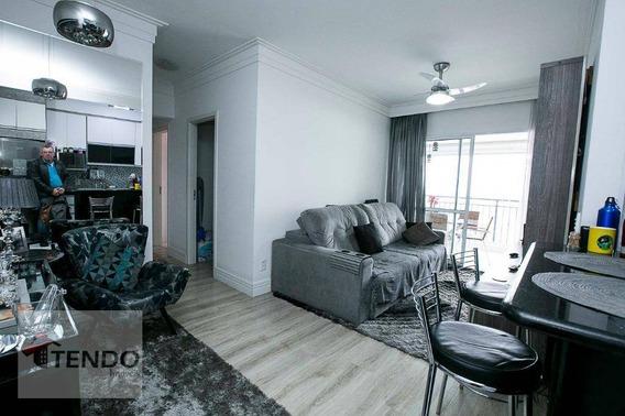 Apartamento Com 3 Dormitórios À Venda, 81 M² Por R$ 520.000 - Independência - São Bernardo Do Campo/sp - Ap0311