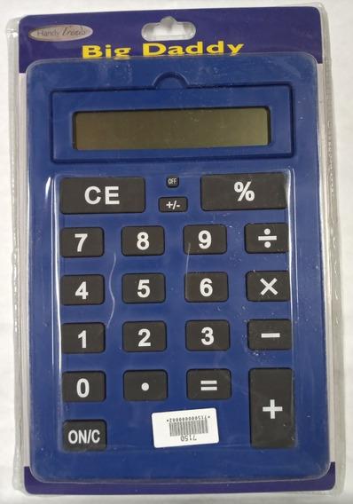 Calculadora Basica Gigante Numeros Grandes 7150 Full