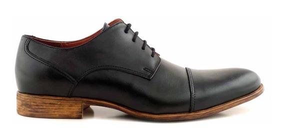 Zapato Vestir Hombre Cuero Briganti Base De Goma - Hcac00911