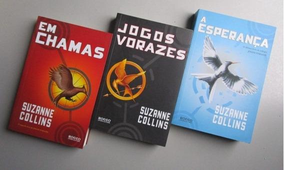 3 Livros - Literatura Estrangeira - Suzanne Collins