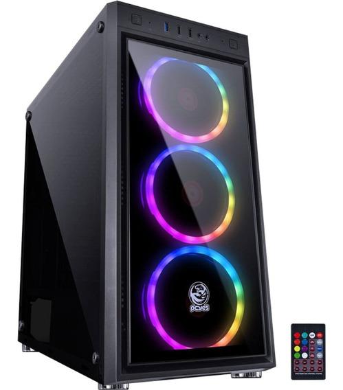 Pc Gamer Amd A8 9600/ 8gb /1tb /ssd120gb /r7 /gab Rgb Novo!