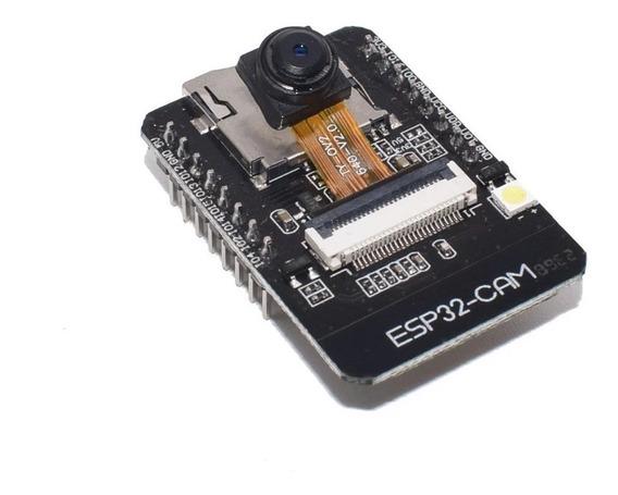 Esp32 Cam Wifi Bluetooth, Câmera Ov2640 Iot