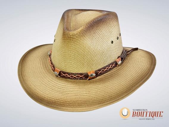 Sombreros Allegro Indiana Ala Plana Nylon Unisex