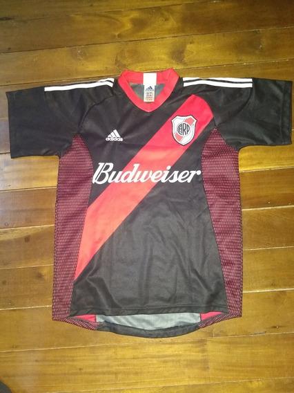 Camiseta De River Plate 2002 #8 adidas Impecable Estado