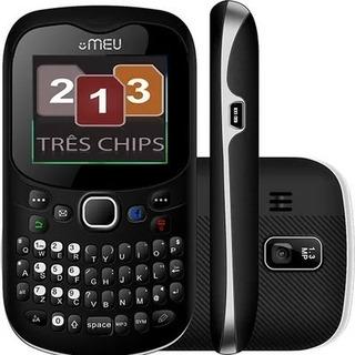 Celular Meu Sn23 Com Trial Chip Preto | Vitrine