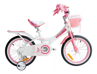 Bicicleta Infantil Royal Baby Jenny Rodado 16 5 A 7 Años