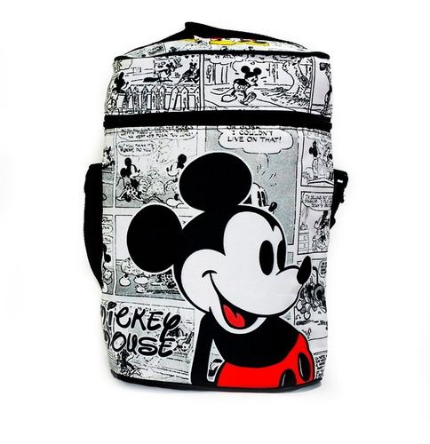 Imagen 1 de 4 de Bolso Matero Térmico Equipo De Mate Mickey & Minnie