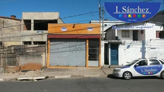 Salão Comercial Para Venda Em Itaquaquecetuba, Jardim Caiuby, 2 Banheiros - 856