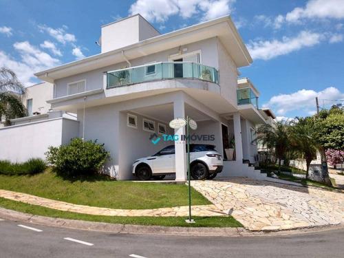 Casa Com 3 Dormitórios À Venda, 230 M² Por R$ 1.100.000 - Chácara Alpina - Valinhos/sp - Ca0889