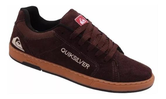 Tênis Quiksilver Lançamento 2019 Camurça Promoção Unissex
