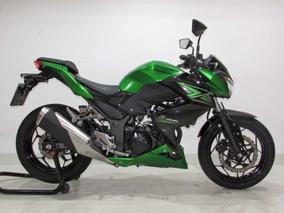 Kawasaki Z 300 - 2016 Verde - Baixo Km